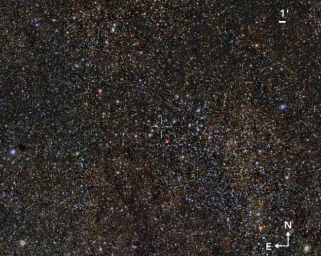 На задворках Млечного Пути обнаружено крупное звёздное скопление класса, давно разыскиваемого астрономами