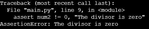 Оператор assert в Python: объяснение на примерах