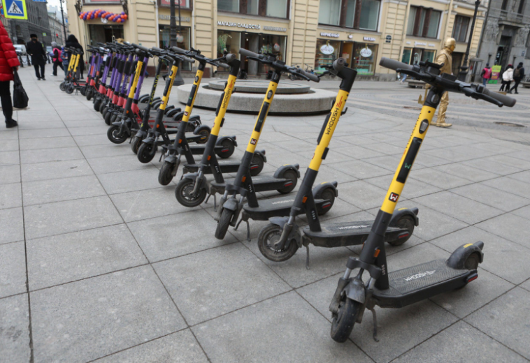 Сервисы аренды самокатов договорились об условиях возобновления работы в Санкт-Петербурге
