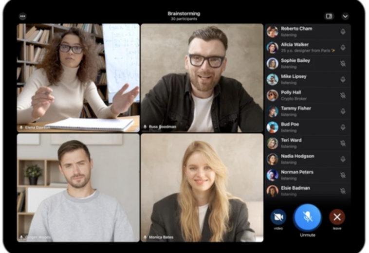 В Telegram добавили групповые видеозвонки и анимированные фоны