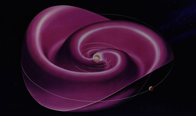 Астрономы впервые построили трёхмерную карту гелиосферы