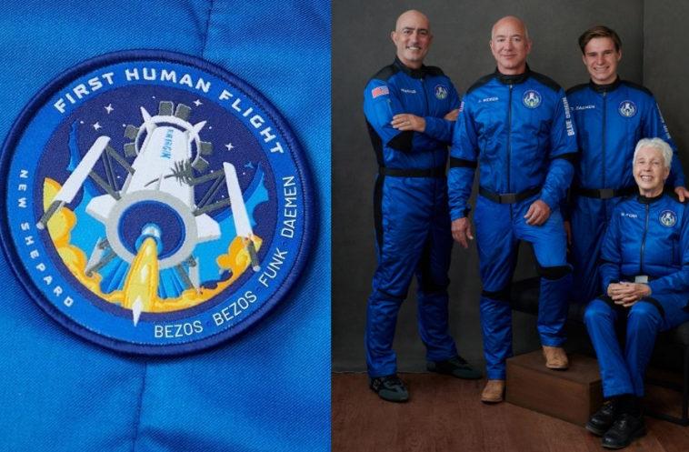 Blue Origin запустила New Shepard с Безосами на борту