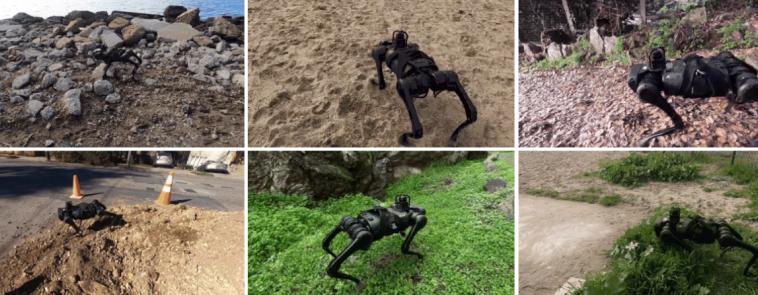 Facebook AI представила робота, который адаптируется к изменениям рельефа в реальном времени