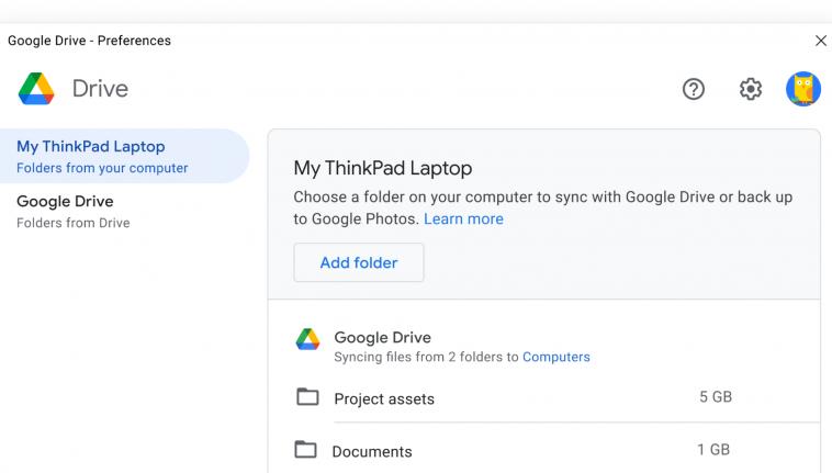 Google представила новую версию «Диска» на замену «Автозагрузке и синхронизации»