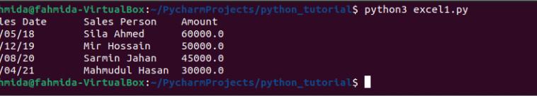 Как читать excel-файлы (xlsx) при помощи Python