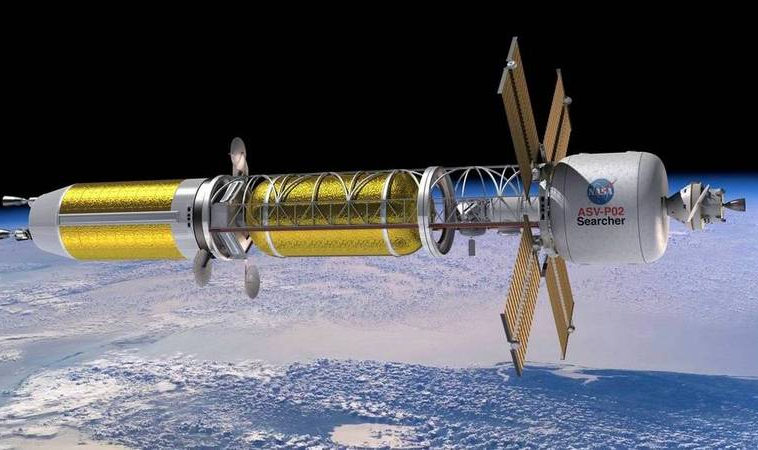 НАСА заключает контракты на исследования ядерных тепловых двигателей
