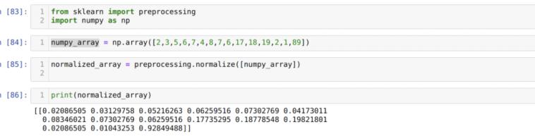 Нормализация данных в Python