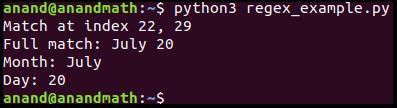 Регулярные выражения в Python и методы модуля re