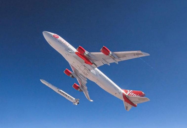 Virgin Orbit запустила 7 спутников с борта Boeing-747