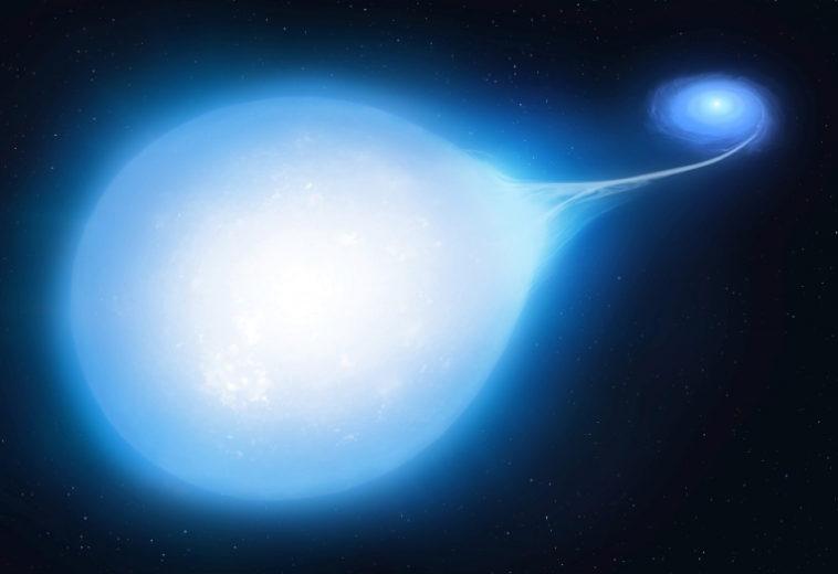 За каплевидной звездой скрывается неизбежный взрыв сверхновой