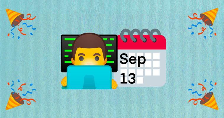 🥳 Поздравляем с Днём программиста!