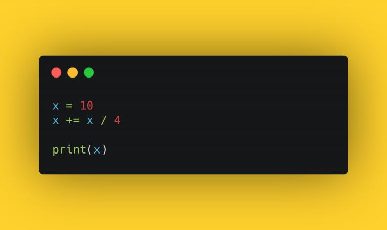 Тест. Числовые выражения в Python