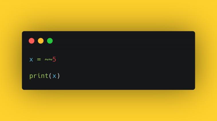 """Тест """"Битовые операторы в Python"""""""