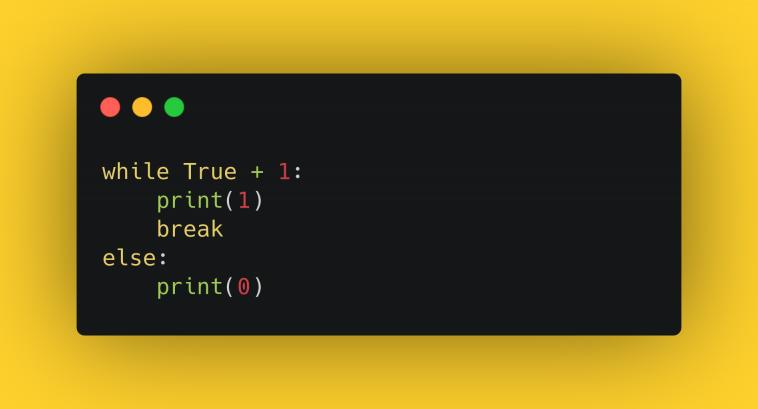 Тест по циклам в Python