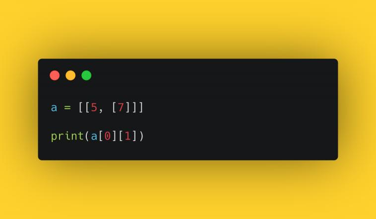 """Тест """"Работа с матрицами в Python"""""""
