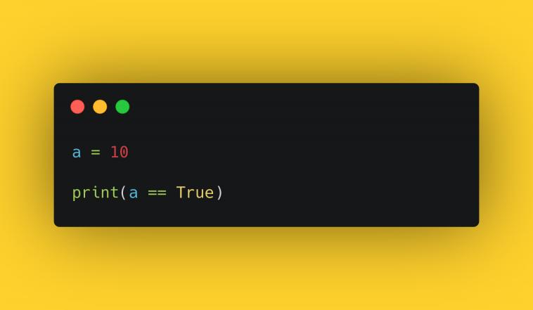 "Тест ""Работа с True/False в Python"""