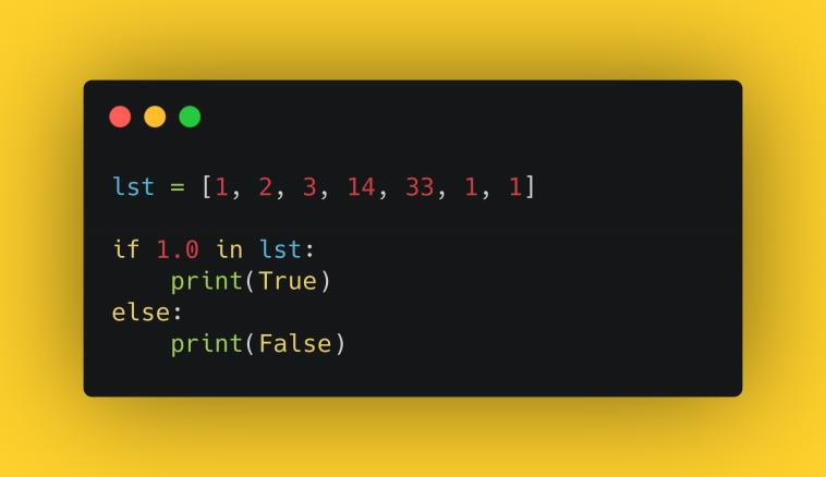 """Тест """"Работа со списками в Python"""""""