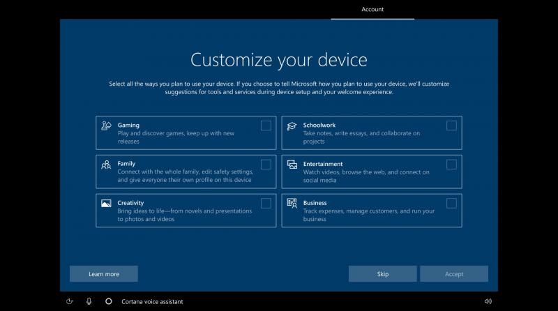 v microsoft anonsirovali funkciju nastrojki windows 10 v zavisimosti ot interesov polzovatelja dcbb883 - В Microsoft анонсировали функцию настройки Windows 10 в зависимости от интересов пользователя